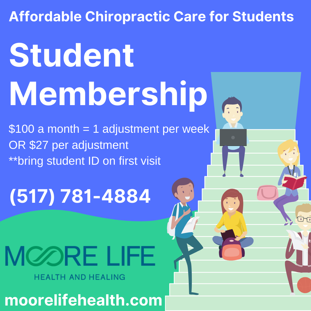 chiropractic care for college students
